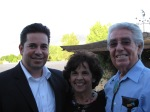 Cong. Ben Ray Lujan, mother Carmen and father Ben.