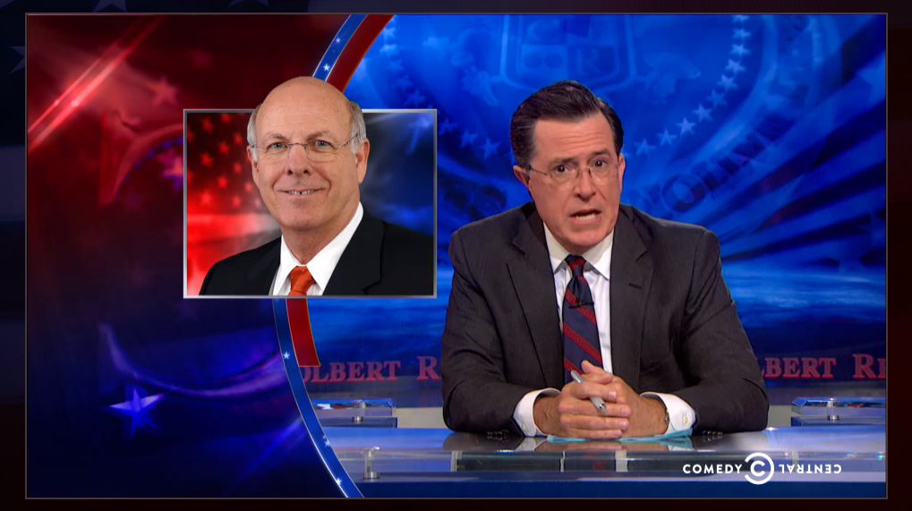 Steve Pearce on Steven Colbert