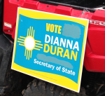 Dianna Duran Sign Painted Over