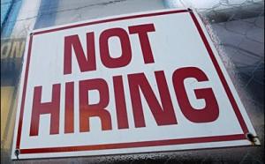 No Jobs Not Hiring