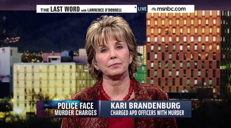 Kari Brandenburg MSNBC