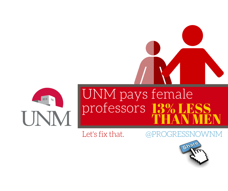 UNM pays female professors (2)