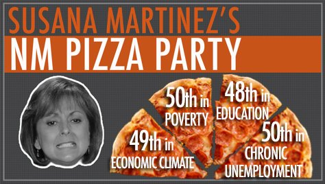 S martinez pizza party